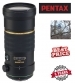Pentax SMCP-DA* 300mm F4 ED IF SDM Autofocus Lens For Digital SLR